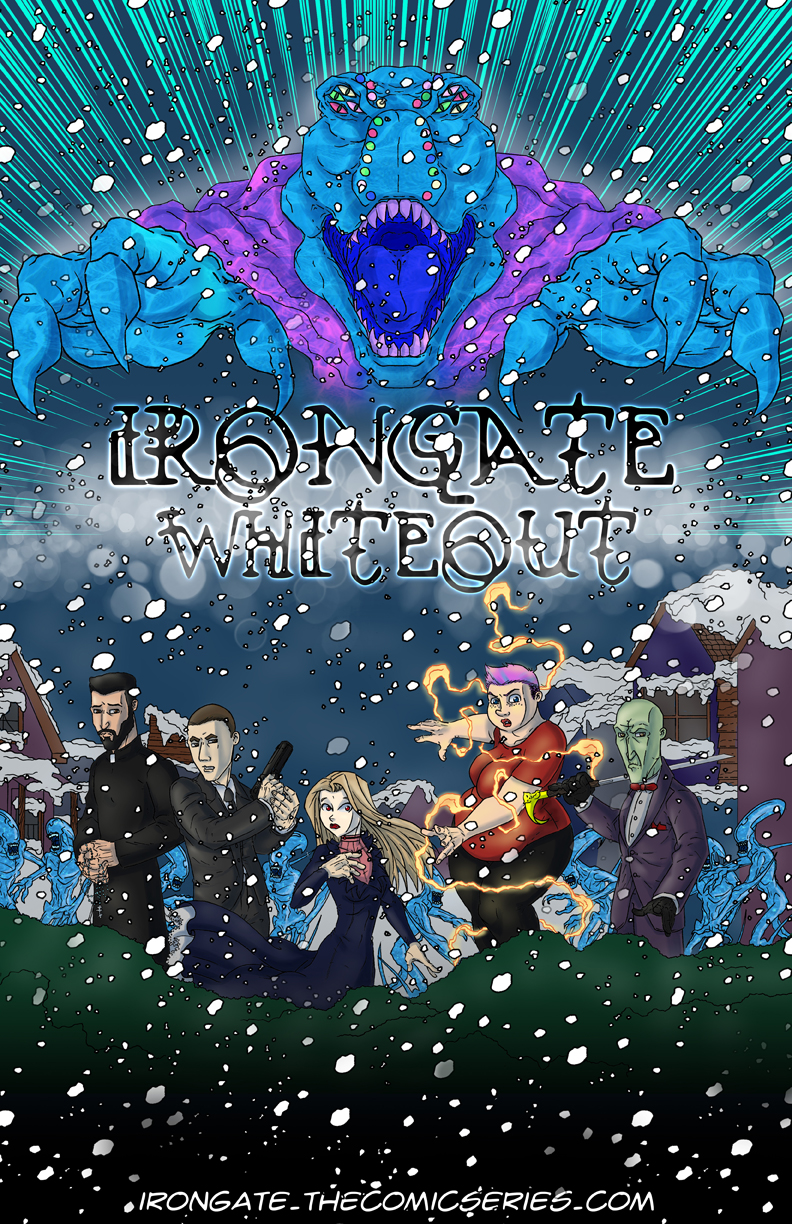 IronGate: Whiteout Cover